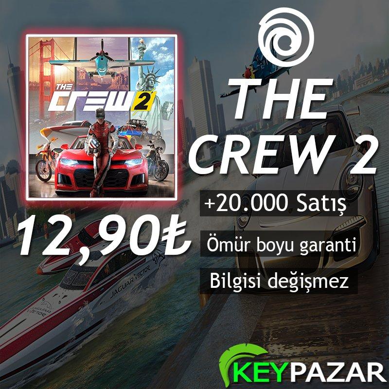 THE CREW 2 ÖMÜR BOYU GARANTİ + HEDİYELİ! UPLAY