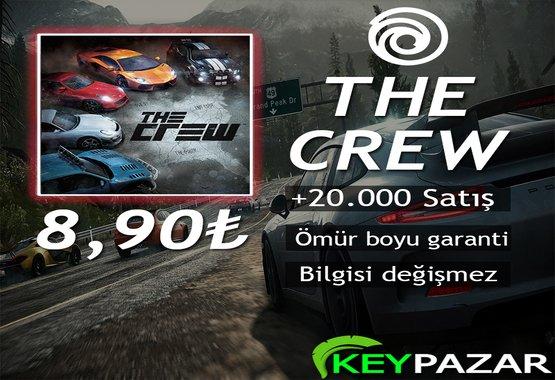 THE CREW ÖMÜR BOYU GARANTİ + HEDİYELİ