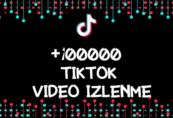 TikTok +100000 İzlenme | HIZLI GÖNDERİM - ANLIK