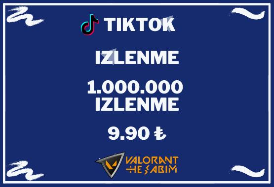 TIKTOK 1.000.000 IZLENME l KESFET ETKILI