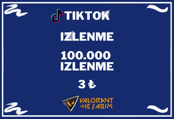 TIKTOK 100.000 IZLENME l KESFET ETKILI