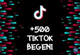 TikTok +500 Beğeni | HIZLI GÖNDERİM - ANLIK