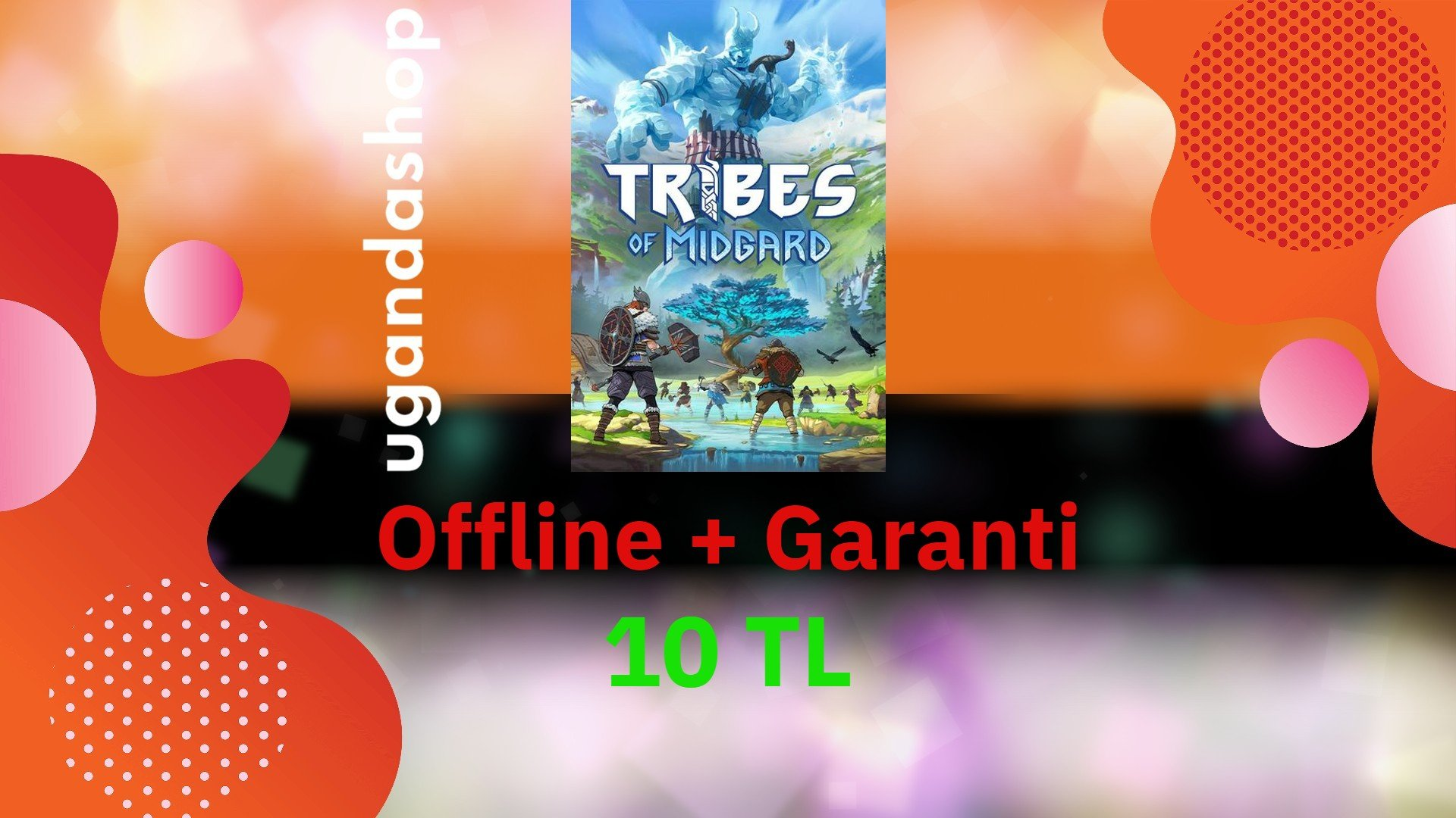 Tribes of Midgard Offline Steam Hesap
