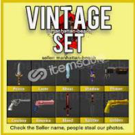 vintage set