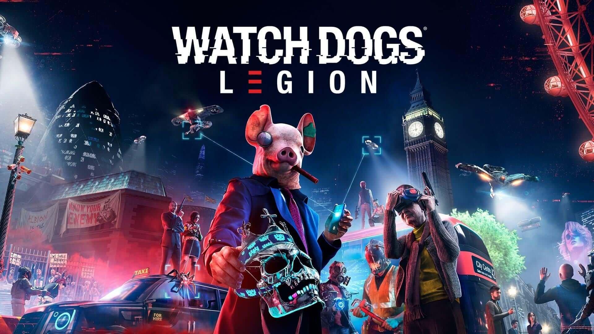 WATCH DOGS LEGİON GARANTİ HEDİYE