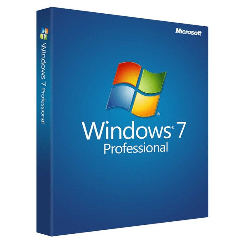 Windows 7 Pro 32/64 Bit 1 Yıl 1 PC