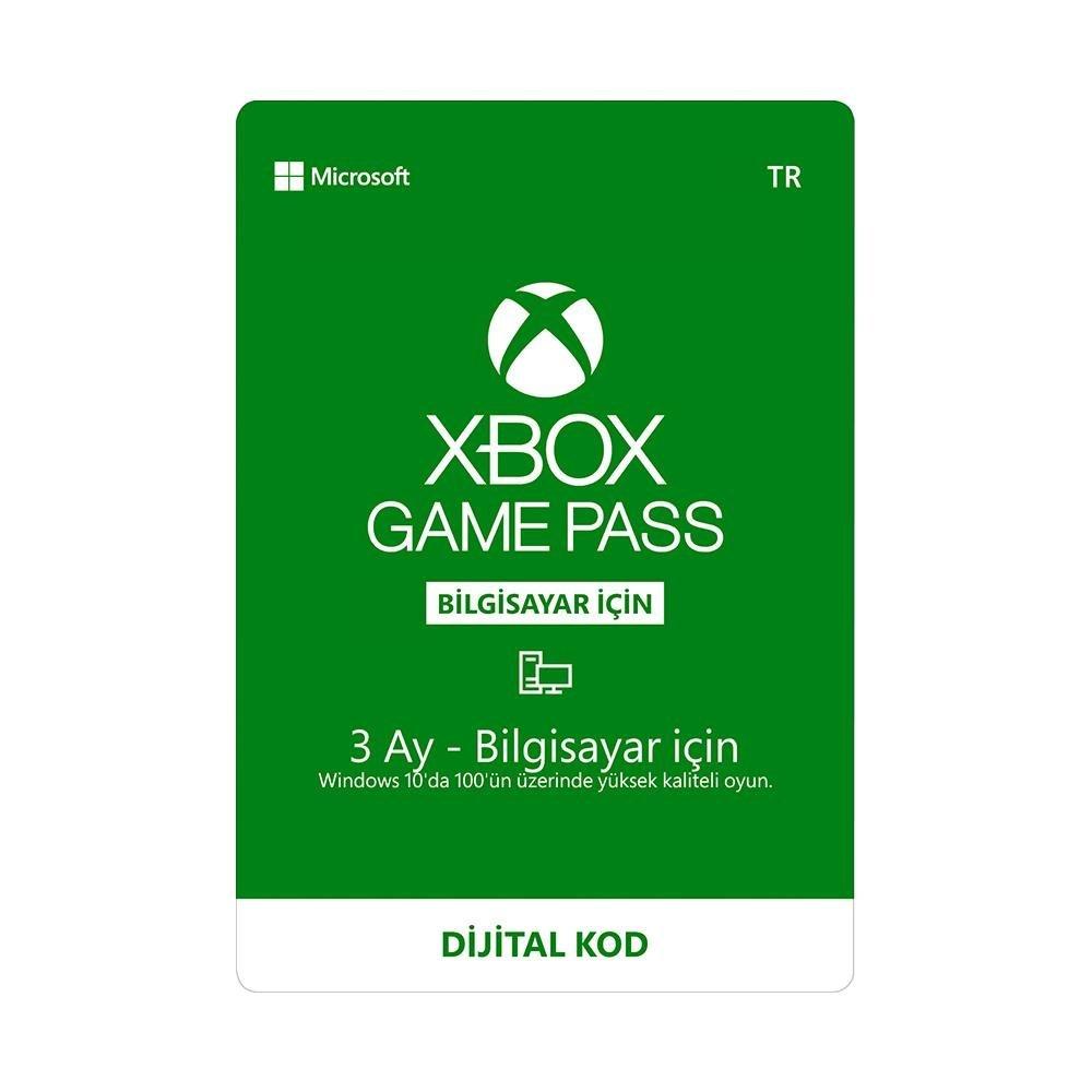 Xbox Game Pass 3 Aylık Key