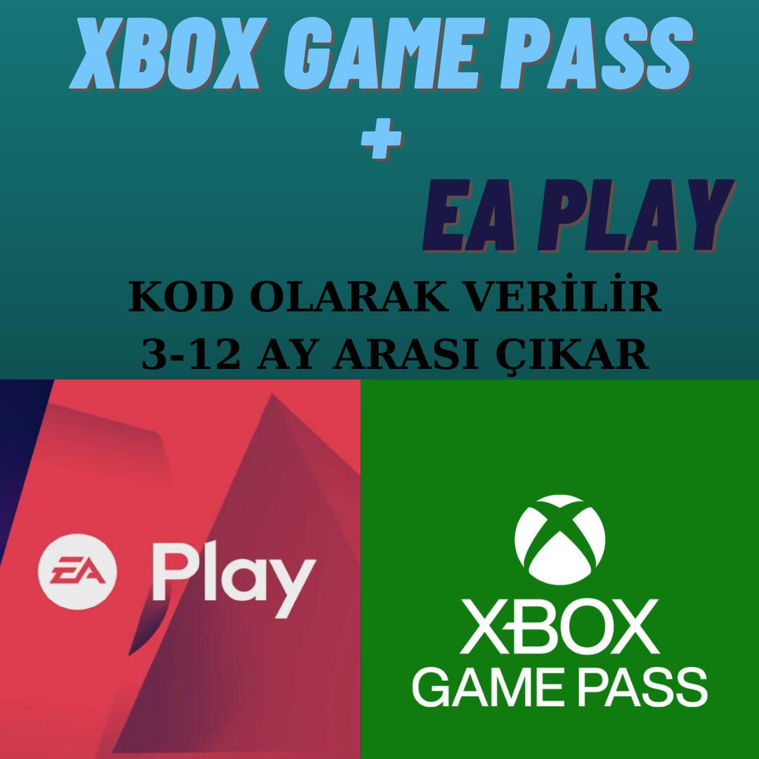 Xbox Game Pass + EA Play 12 Aya kadar