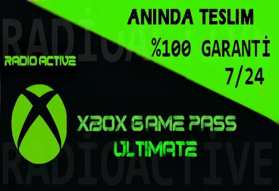 Xbox Game Pass Ultimate+EA PLAY+Sınırsız Erişim