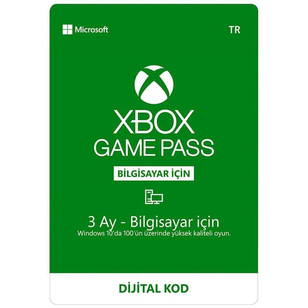 Xbox GamePass + EA Play 3 Aylık Key PC