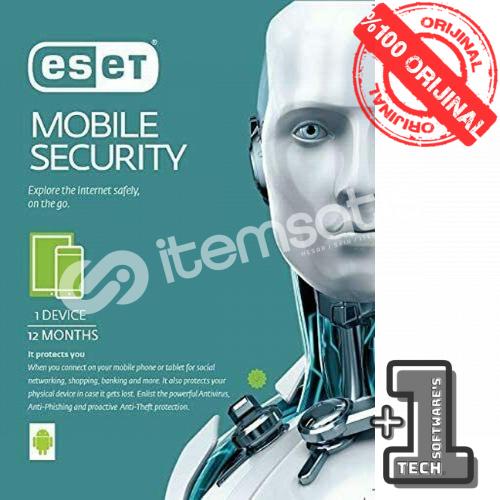 Eset Mobile Security 1Cihaz 1Yıl (KAMPANYA -SINIRLI STOK)