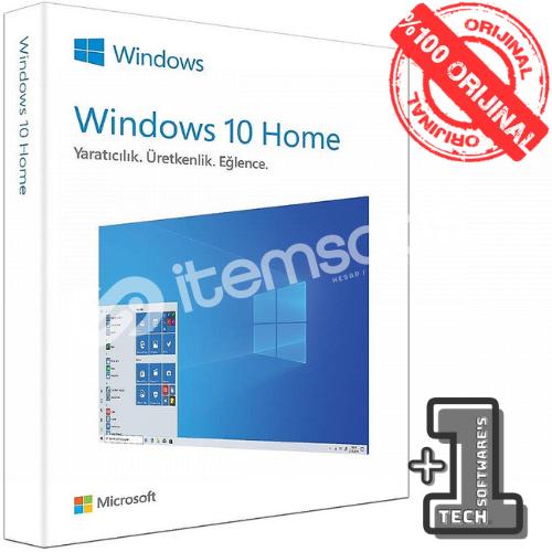 Windows 10 HOME Dijital Ürün Lisans Anahtarı 32&64 Bit