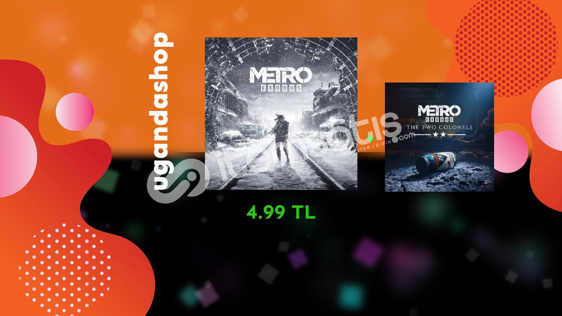 Metro Exodus + The Two Colonels DLC Offline Steam Hesap