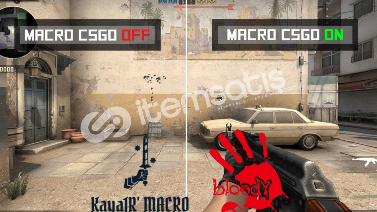 CS GO Bloody No Recoil Macro Paketi (VİDEO EKTE)