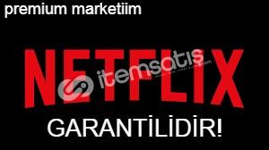 1 AYLIK NETFLİX 4K UHD PREMİUM LÜTFEN AÇIKLAMAYı OKUYUNUZ !!