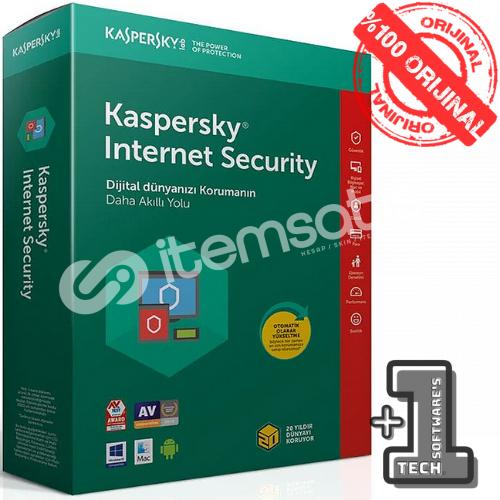 KASPERSKY INTERNET SECURITY 2 Pc 1 Yıl
