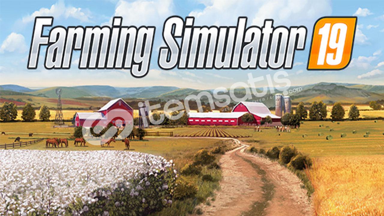 Farming Simulator 19 [Epic Games Hesabı]