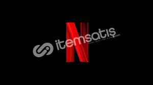 1 aylık Netflix UHD orijinal premium hesap (4+1 profil)