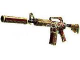 M4A1-S   Chantico's Fire (Well-Worn)