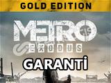 Metro Exodus Gold + 2 DLC + Garantili