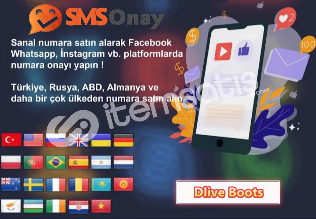 Youtube Gmail Google Sanal Numara { Sms Onay }