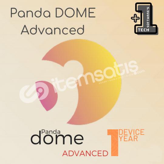PANDA DOME ADVANCED 1 CİHAZ 1 YIL (2021)