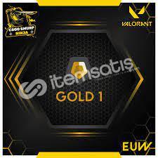 Valorant Beta Gold 1 Yüksek MMR Hesap