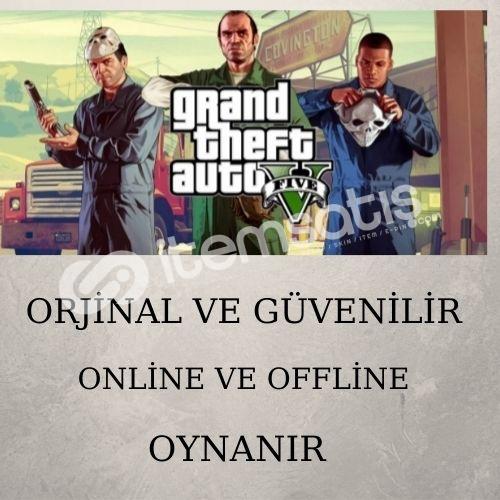 GTA 5 GARANTİLİ ONLİNE+OFFLİNE