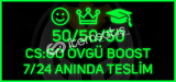 KAÇIRMA !!! 50/50/50 CS:GO ÖVGÜ BOOST PAKETiii i