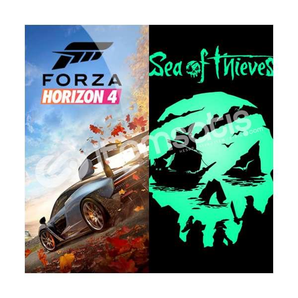 Sea Of thieves ve Forza Horizon 4 sadece 5 lira