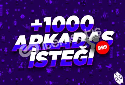 Discord +1000 Arkadaşlık İsteği
