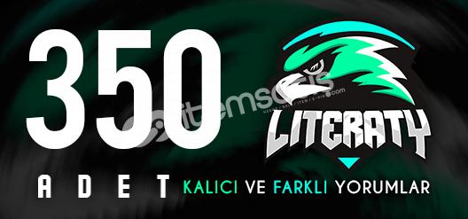 350 VACSIZ YORUM! GÜVEN FAKTÖRÜ YÜKSELTİCİ!!