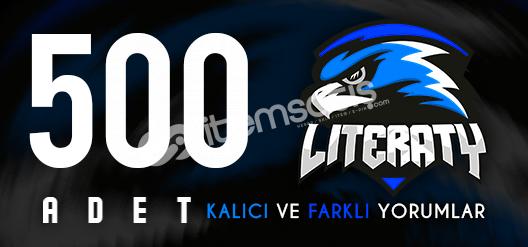 500 VACSIZ YORUM! CS GO GÜVEN FAKTÖRÜ YÜKSELTİCİ!!