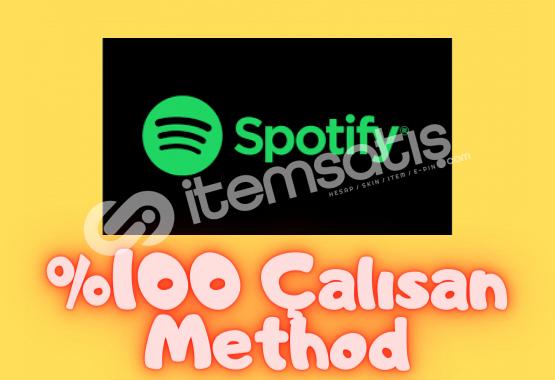 Spotify Premium Method | %100 Çalışıyor