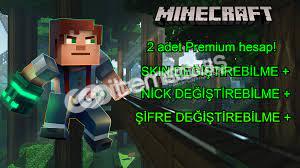 Minecraft 2 Adet Elmas Premium