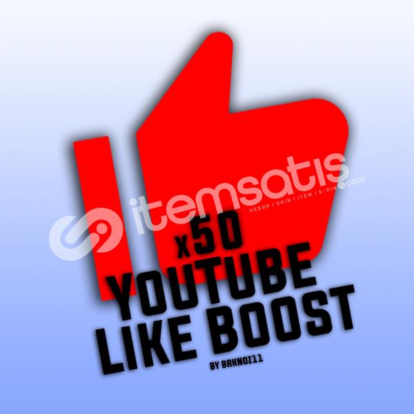 50 YouTube Beğeni+İzlenme