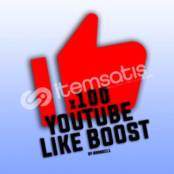 100 YouTube Beğeni+İzlenme