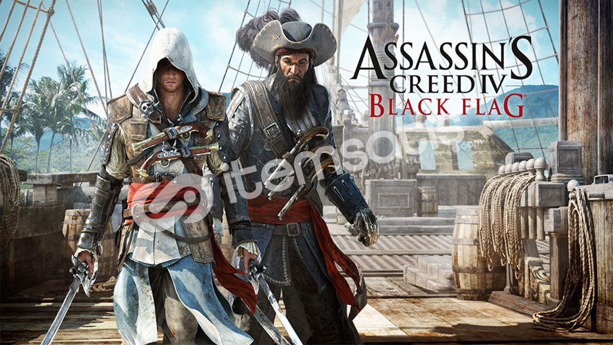 Assassin's Creed® IV Black Flag™ +10 TL Hediye