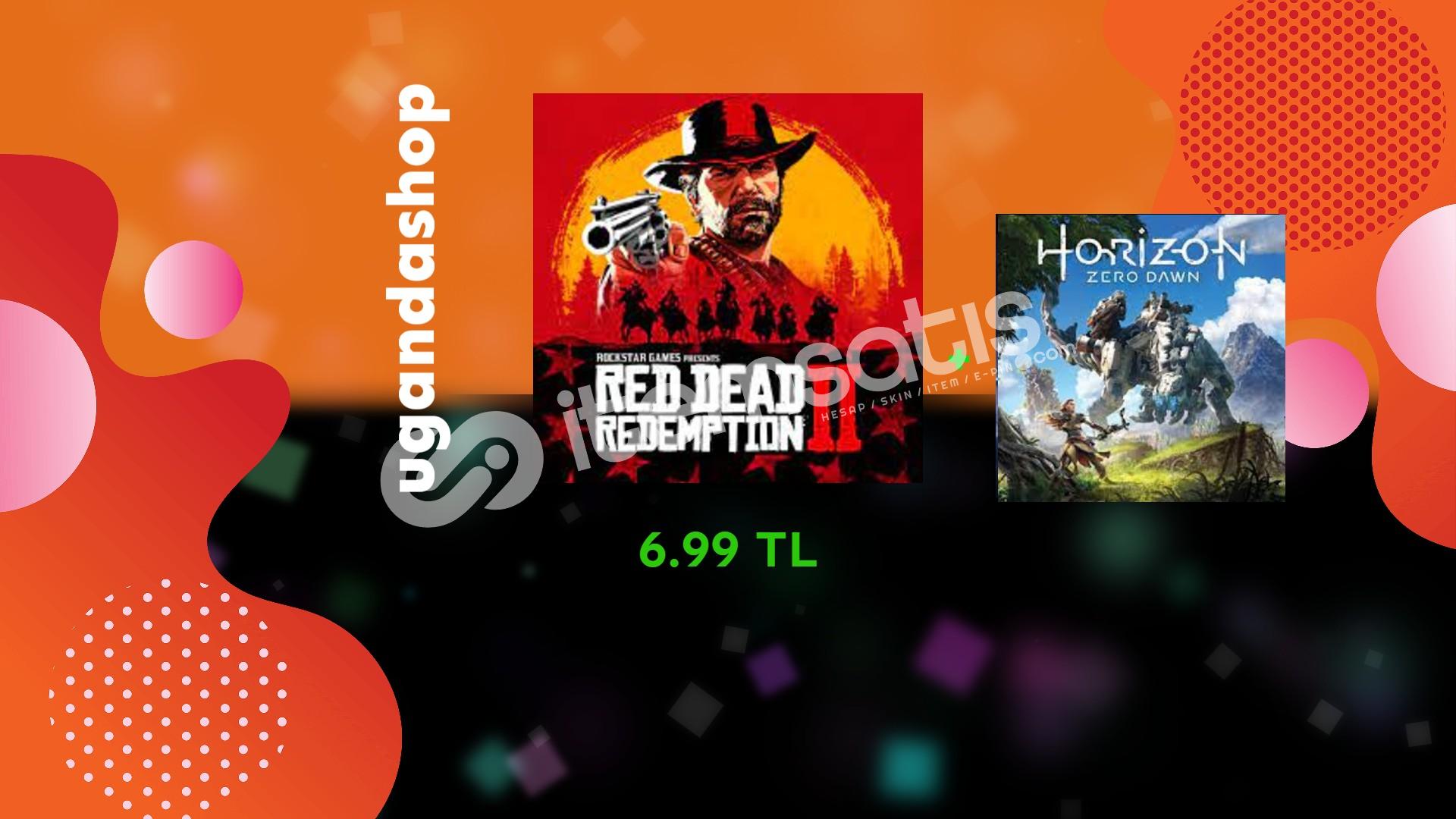 Red Dead Redemption2+Horizon Zero Dawn Offline Steam Hesap