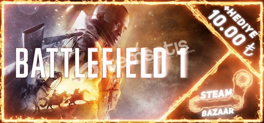 Battlefield 1 PREMİUM Online! +10 Tl Hediye
