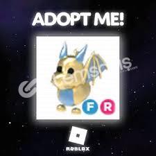 Roblox Adopt Me Fly Ride Golden Dragın!