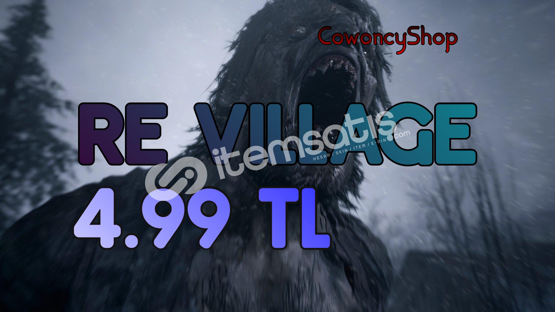 Resident Evil 8 [ Offline Hesap + Garanti ] Village