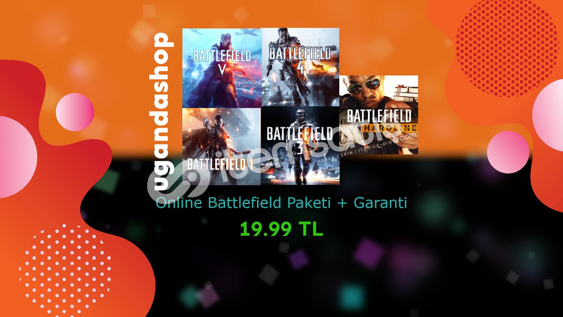 Battlefield Paketi 5-4-3-1-Hardline Online Origin + Garanti