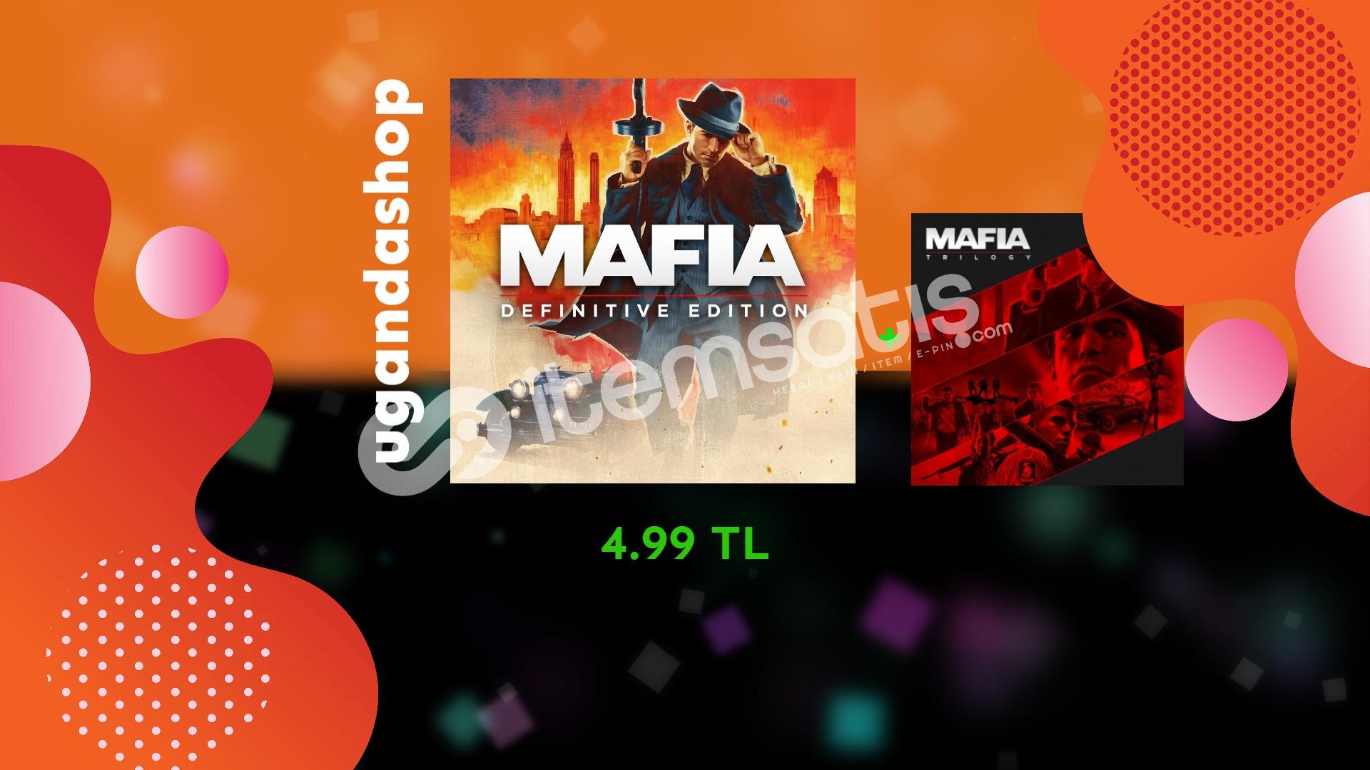Mafia Definitive Edition+Trilogy Offline Ömür Boyu Garanti