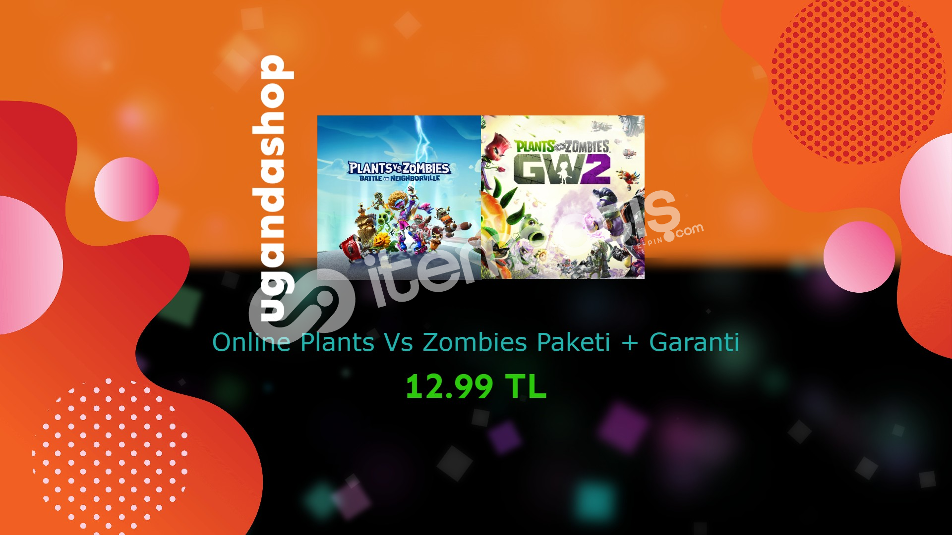 Plants vs Zombies Battle for Neighborville + Garden Warfare2