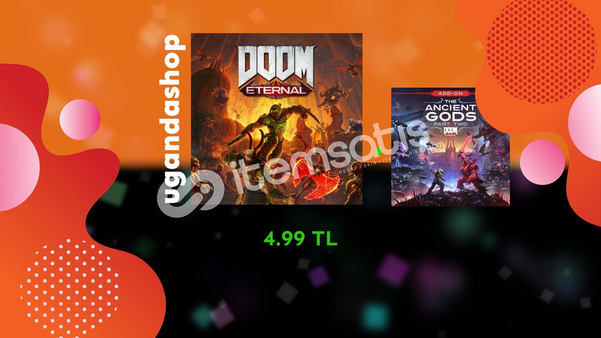 Doom Eternal Ancient Gods Part 1-2 Offline Steam Hesap