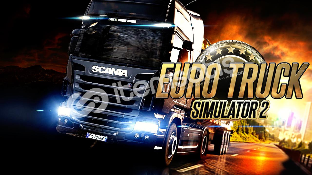 Euro Truck Simulator 2 (3.00TL) GEFORCE NOW %100 DESTEKLER