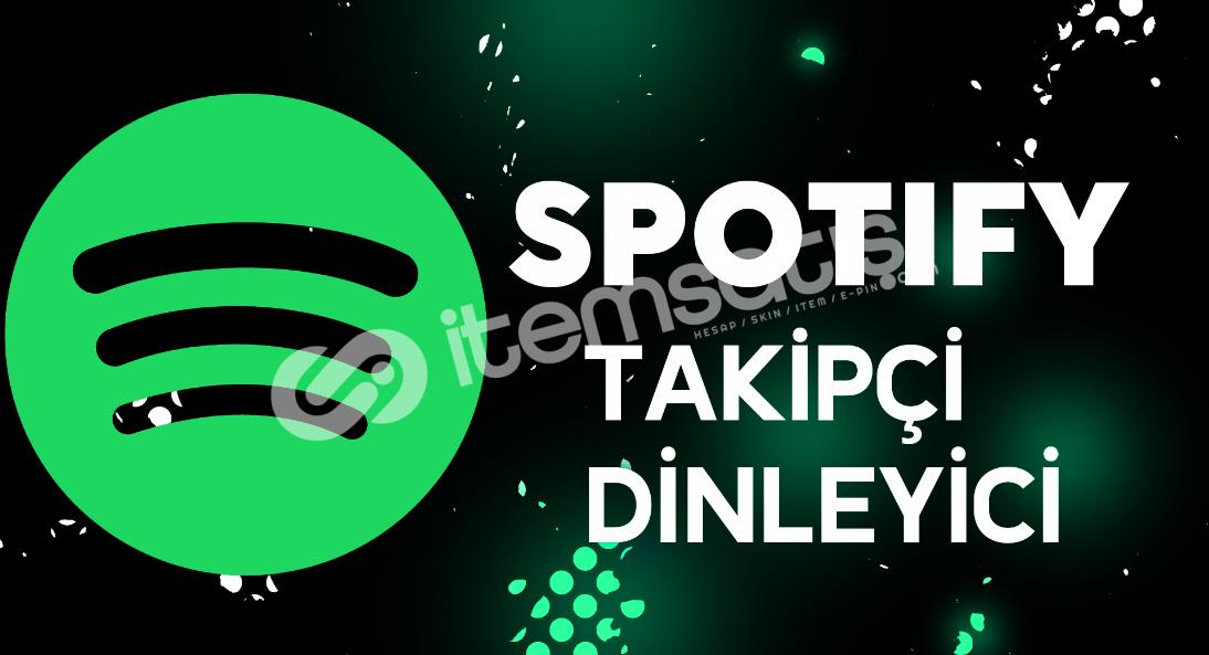 Spotify dinlenme ve takipçi