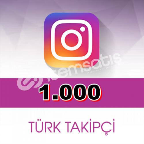 Instagram 1000 Adet Gerçek Takipçi | 30 Gün Garanti-Telafi