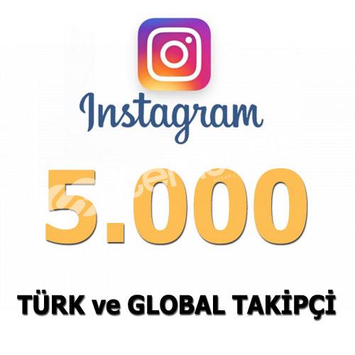 Instagram 5000 Adet Gerçek Takipçi | 30 Gün Garanti-Telafi